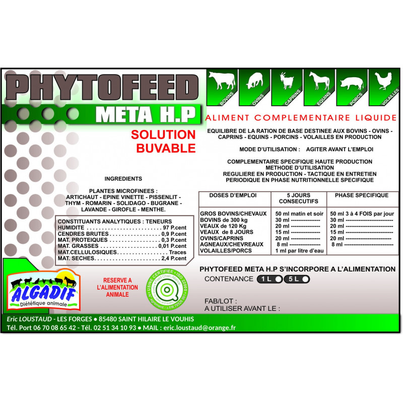 Phytofeed Basse-Cour