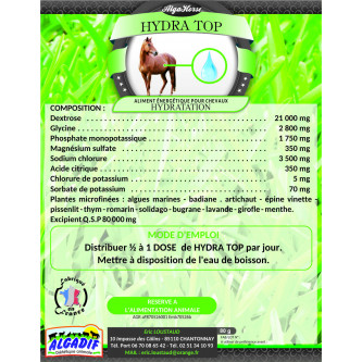 Alga Horse Hydra Top