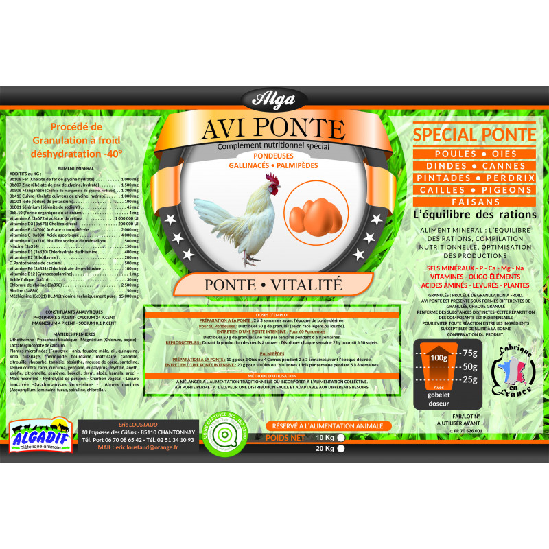 Phytostimul Avi Pondeuse