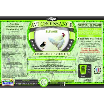 Alga Avi Croissance