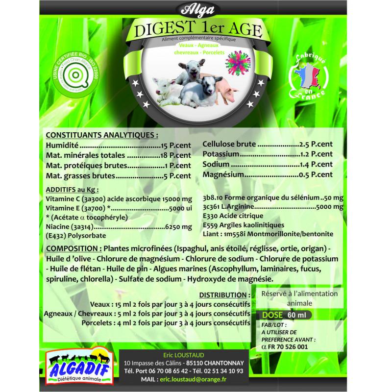 Alga Digest 1er Age